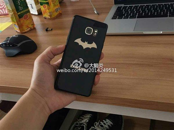 三星Galaxy Note 7蝙蝠俠特别版疑曝光