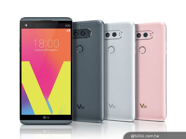 LG V20主打高規影音體驗 9月韓國首發上市