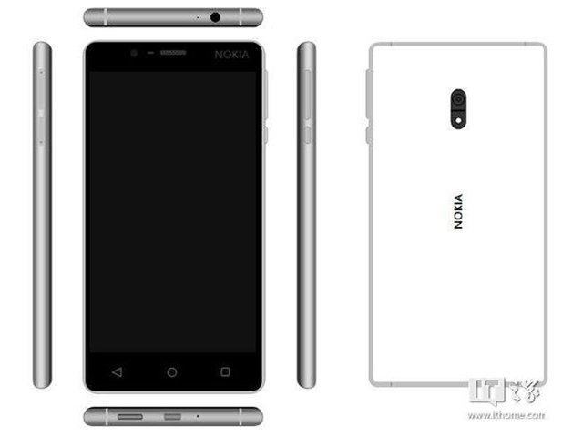 诺基亚D1C外型曝光 神似Lumia 930