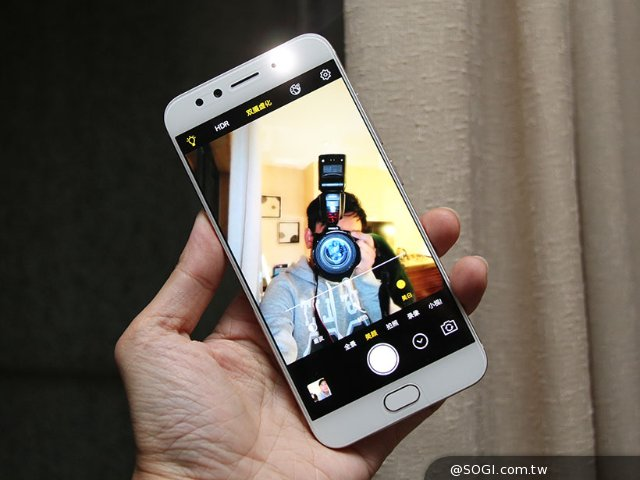 vivo X9與X9 Plus前置雙鏡頭手機 景深效果實測