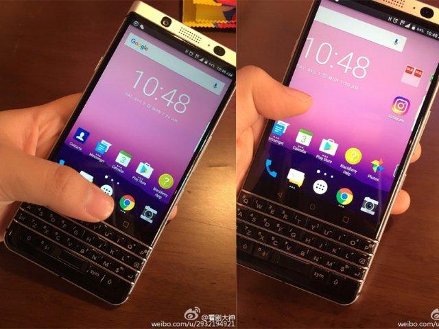 QWERTY键盘回归?黑莓新手机Mercury外型曝光
