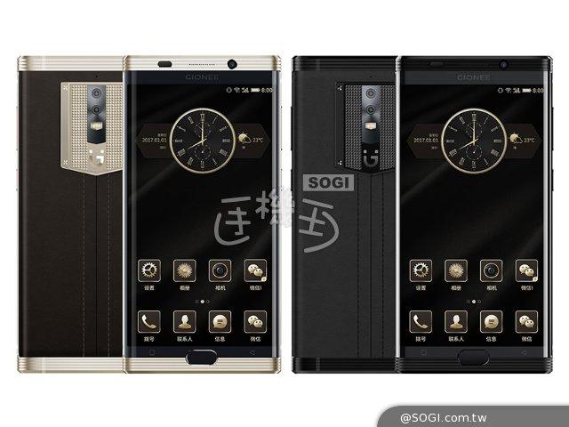 金立M2017发布:7千毫安电池、双曲面屏幕