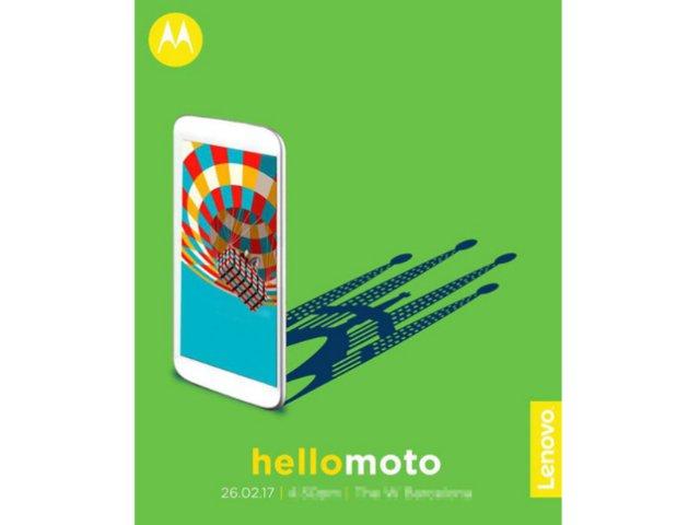 联想确认2/26发布摩托罗拉新机:MOTO G5 Plus?