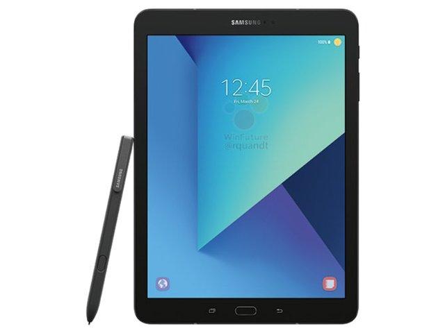 三星Galaxy Tab S3產品圖曝光 S Pen搭配大螢幕